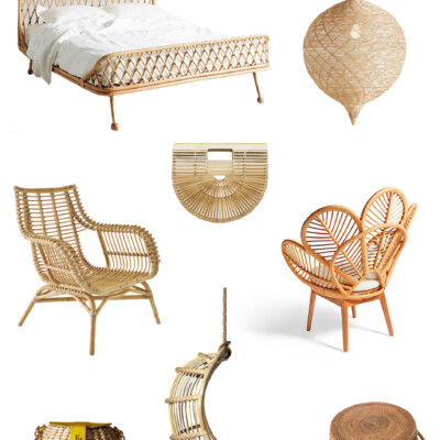 Friday Favorites: modern Rattan and Wicker trend