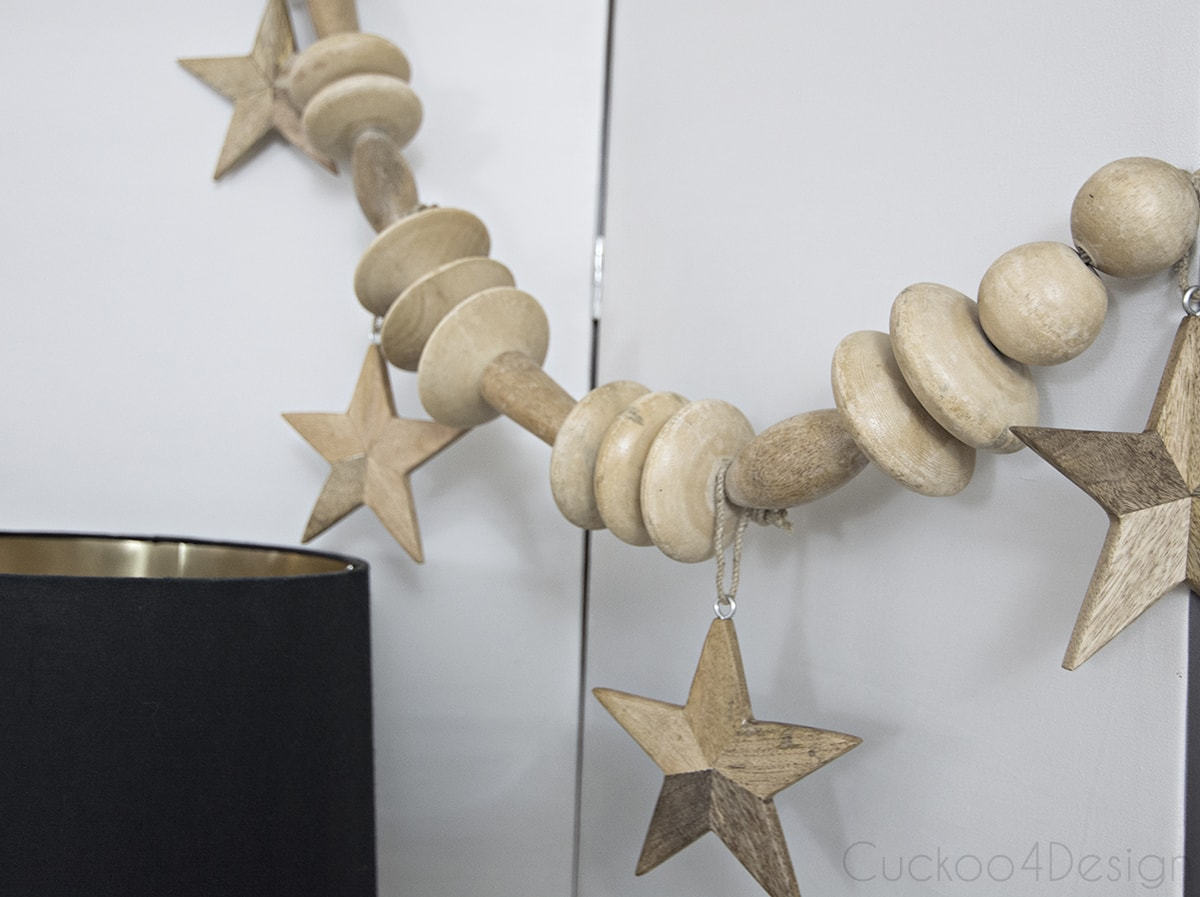 Diy Huge Wood Bead Garland Cuckoo4design