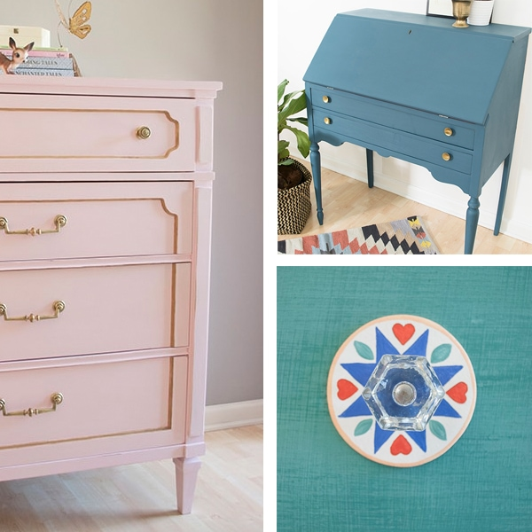 Testing calcium carbonate chalk paint and other recipes
