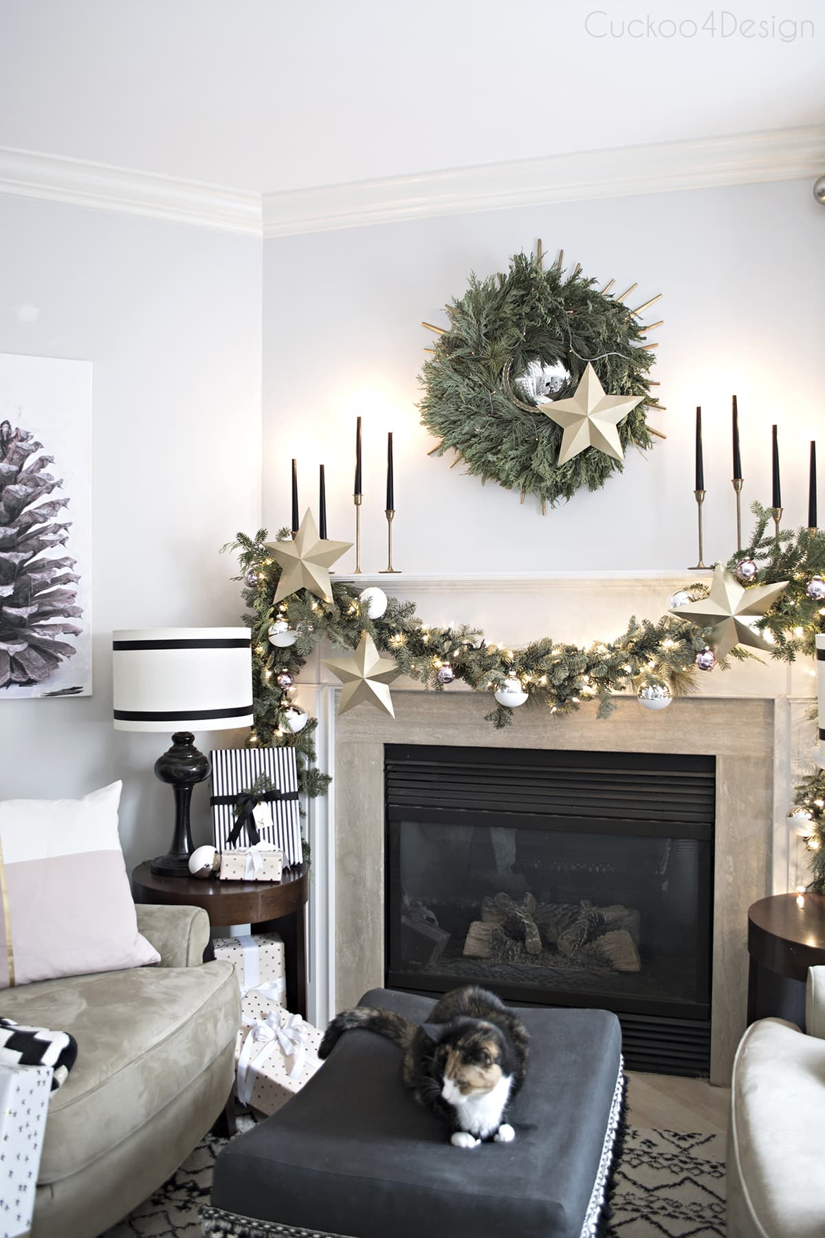 Exelent Home Christmas Ideas Festooning - Home Decorating ...