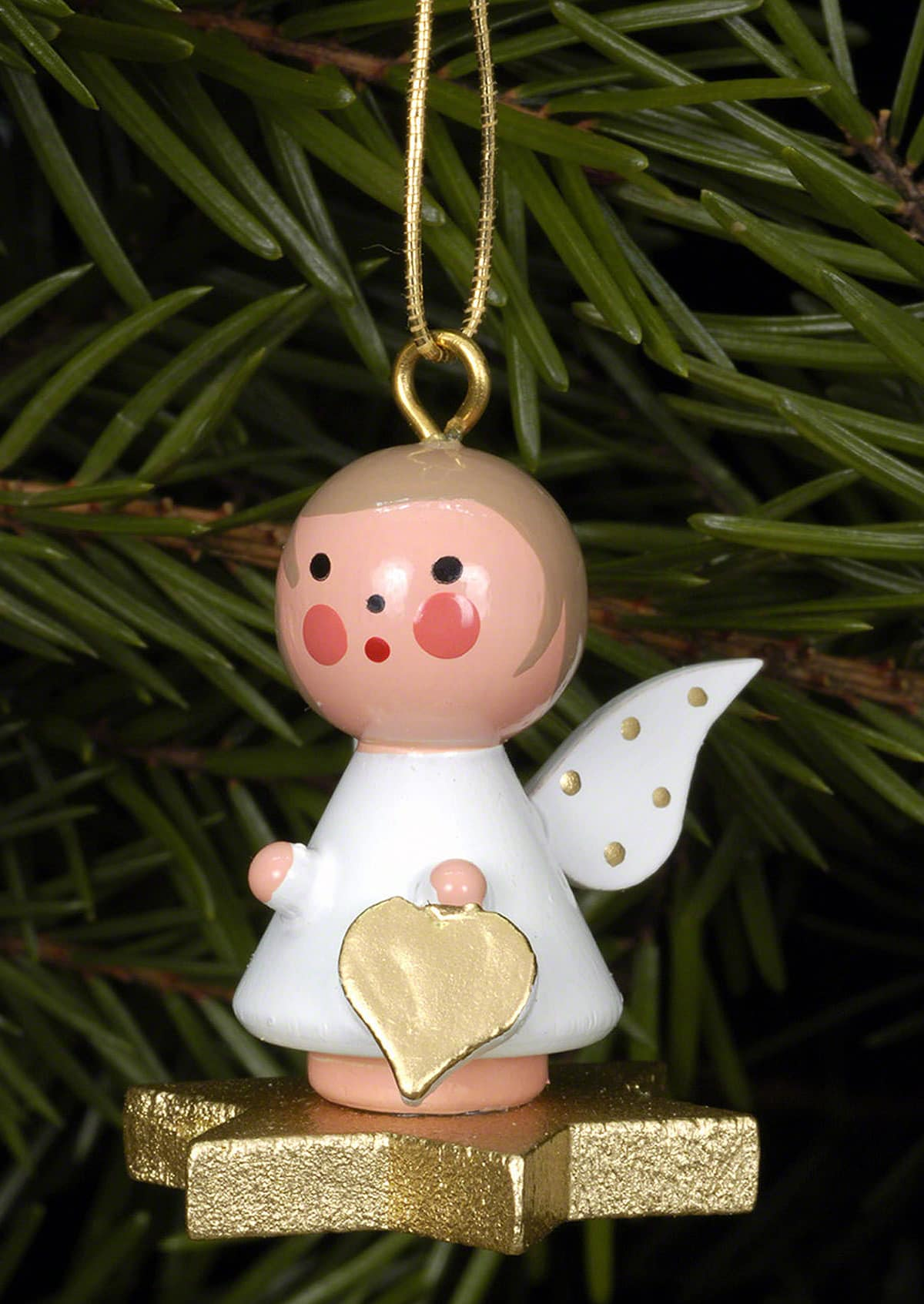 German Ornament Angel on star