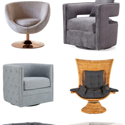 Friday Favorites: Lounge Swivel Chairs