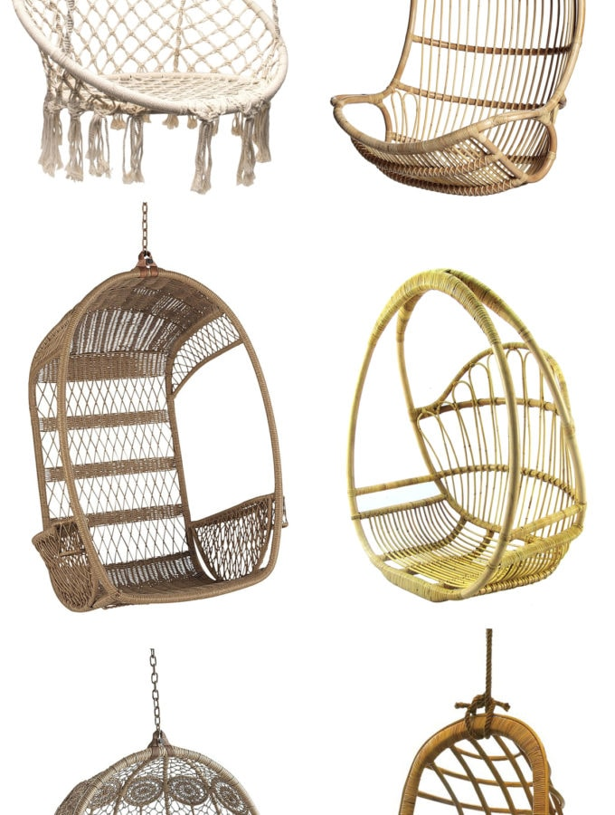 Friday Favorites: 10 Stylish Hanging Chairs