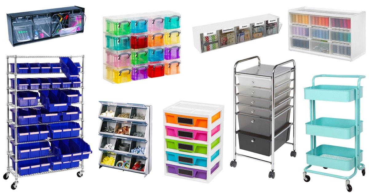 favorite crafting organizing storage