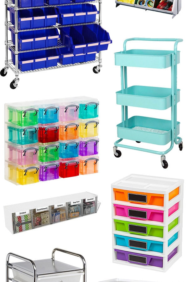 favorite crafting organizing storage