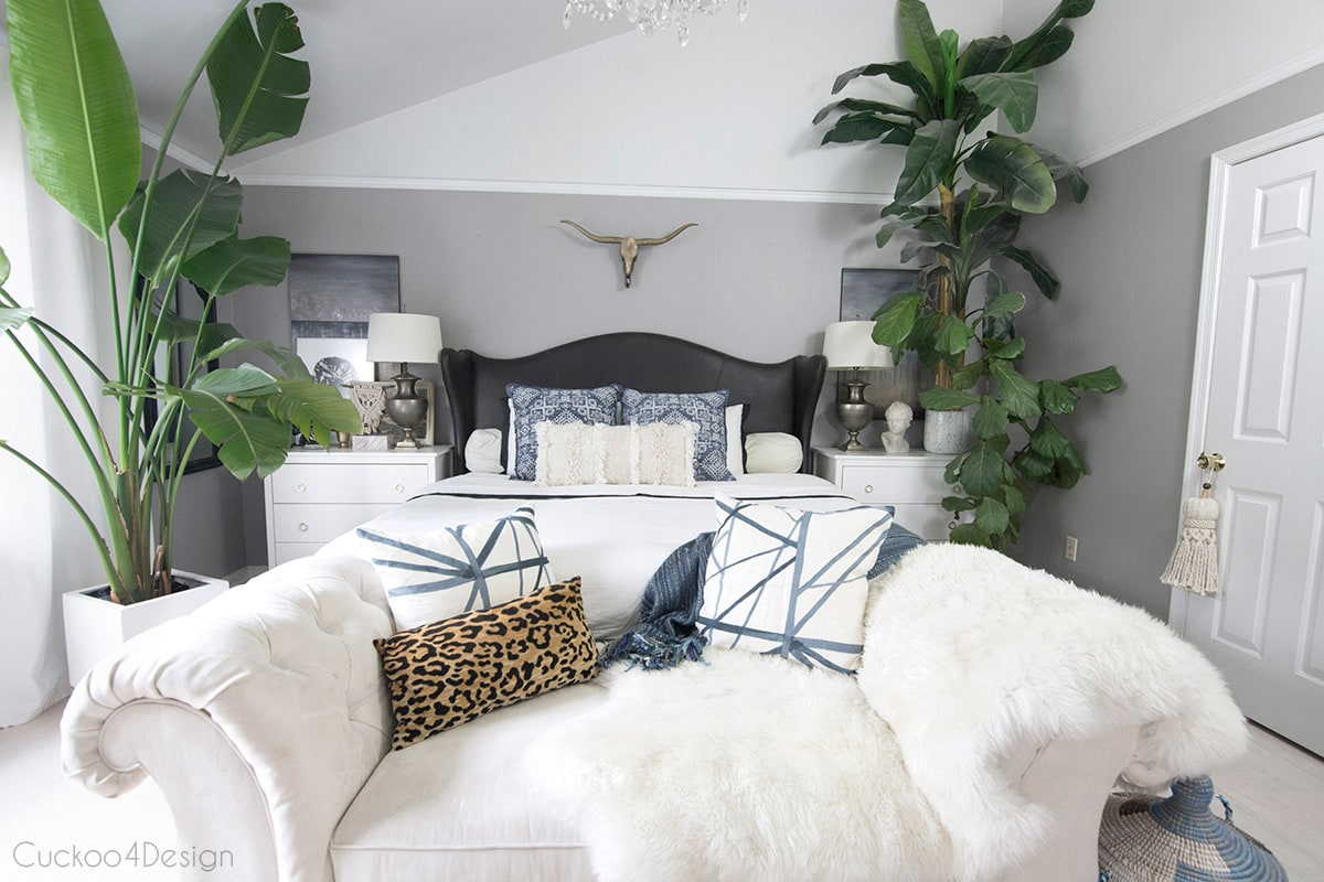 decorating your bedroom on a budget in a beautiful boho style
