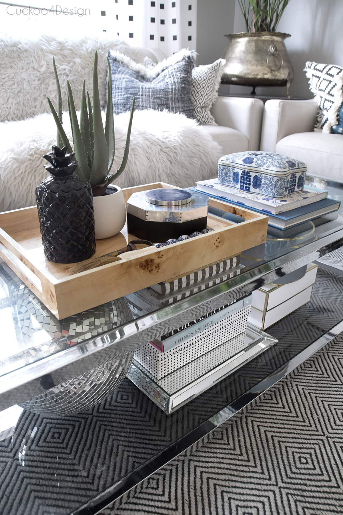coffee table decorating