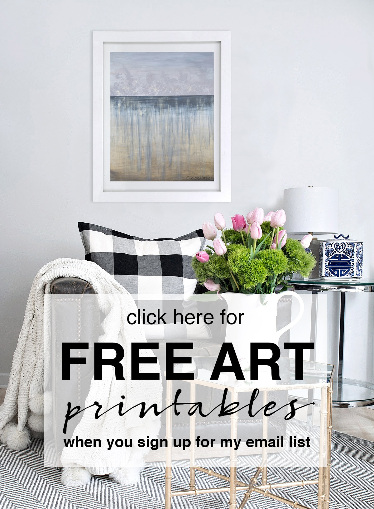 our bedroom art printable