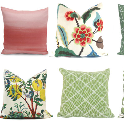 Friday Favorites: Colorful Throw Pillows