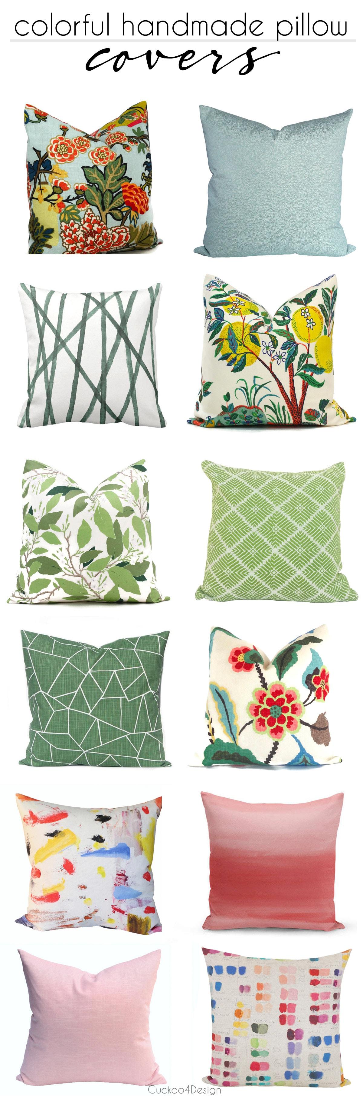 colorful throw pillows | beautiful throw pillows  | designer throw pillows | handmade colorful throw pillows | Schumacher throw pillows | Etsy throw pillows | patterned colorful throw pillows #throwpillows #homedecor