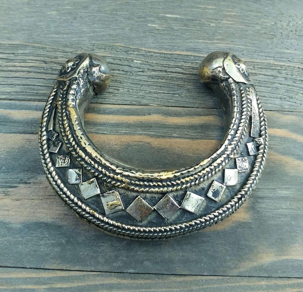 silver Afghan cuff bracelet
