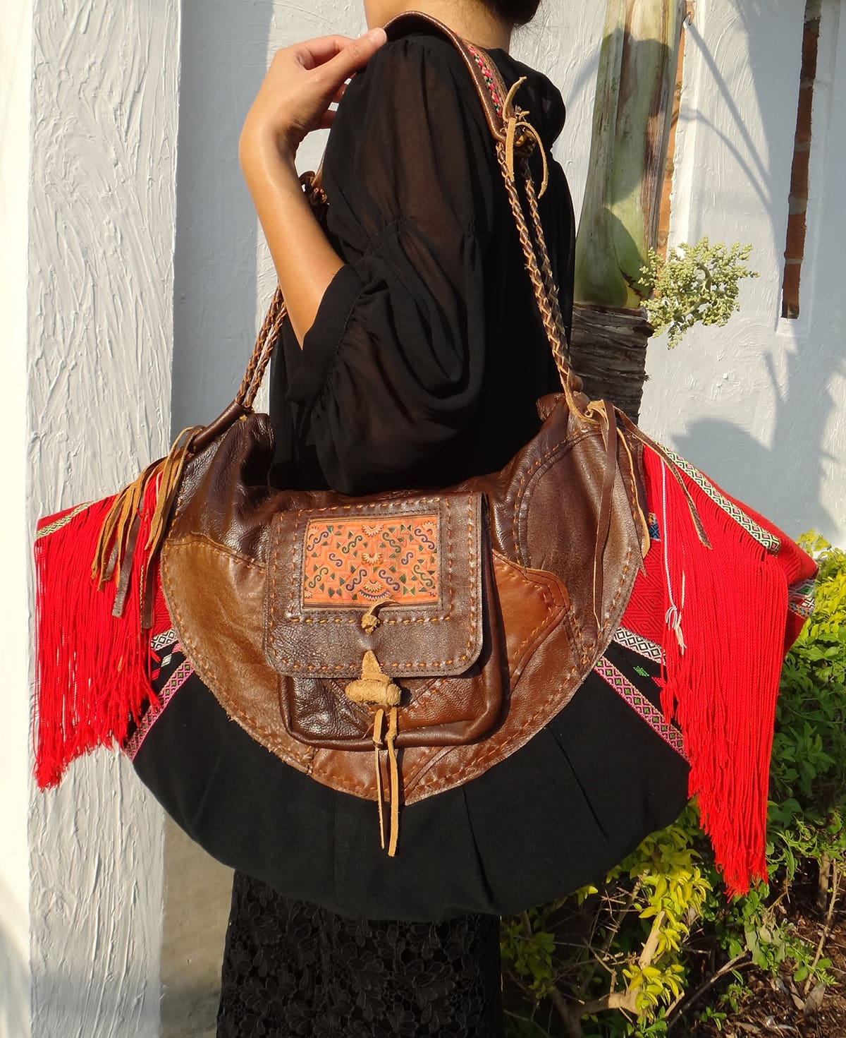 tribal gypsy hippie bag