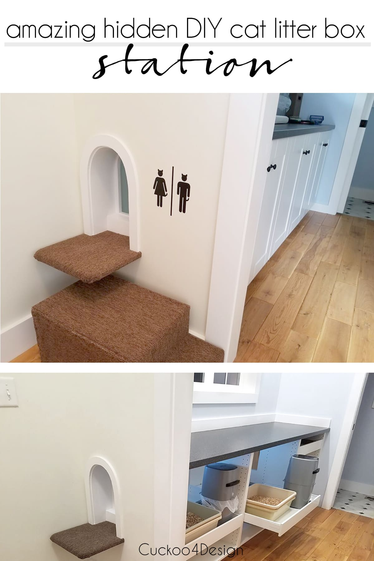 Amazing Litter Box Enclosure Cuckoo4design