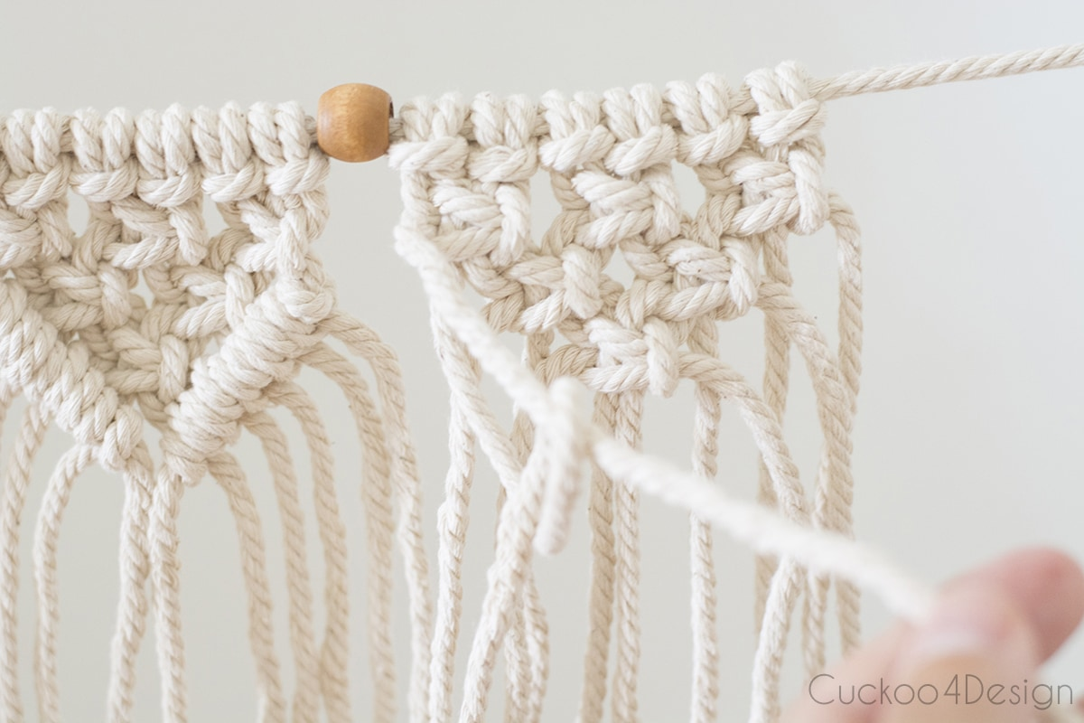 how to loop half hitch knots
