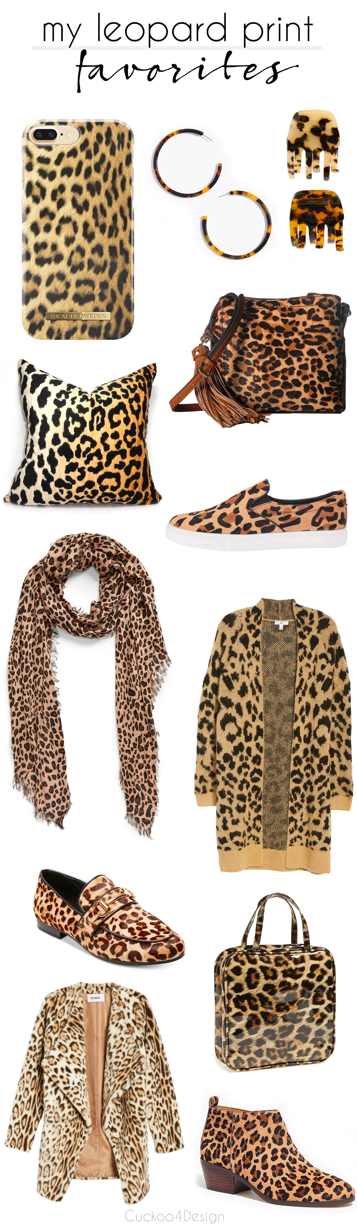 Braemore Jamil leopard print inspired favorites