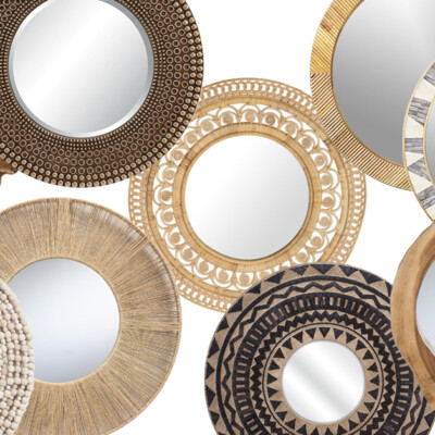 Friday Favorites: Boho Mirrors