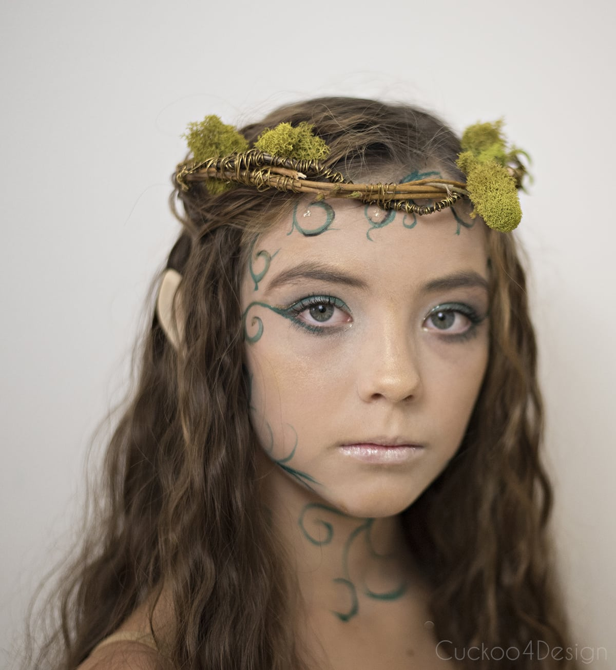 forest elf makeup