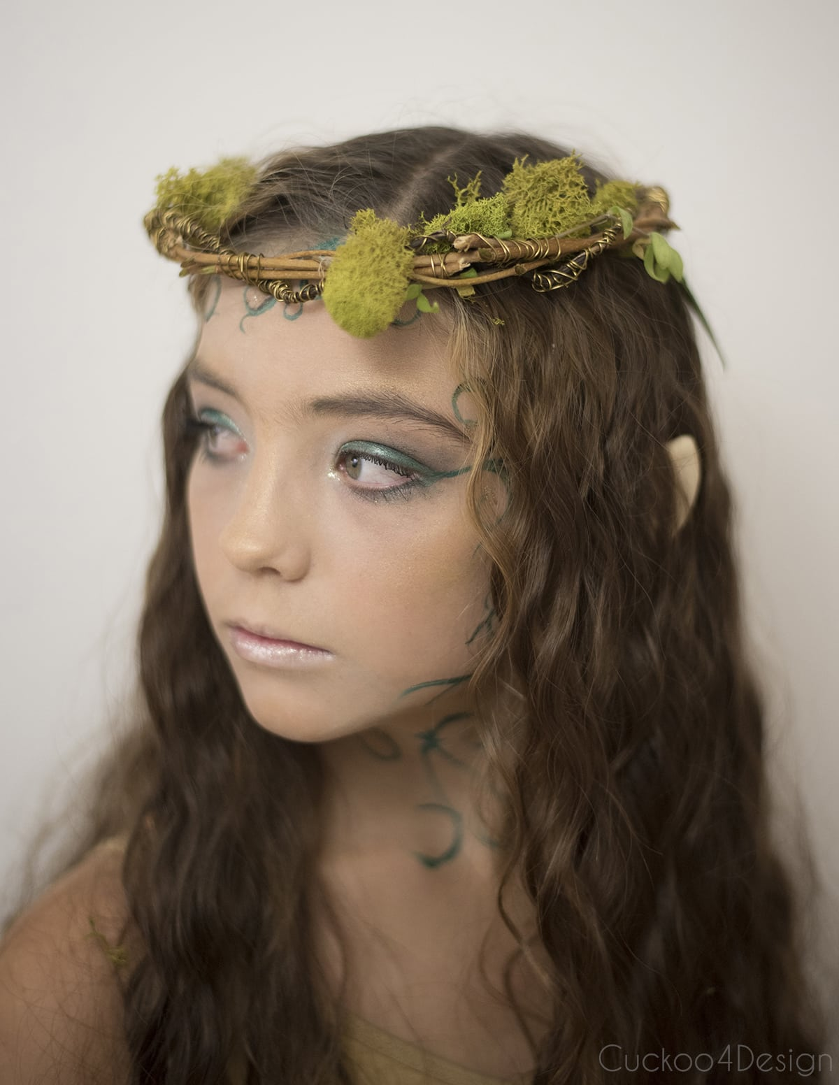 attaching forest elf ears