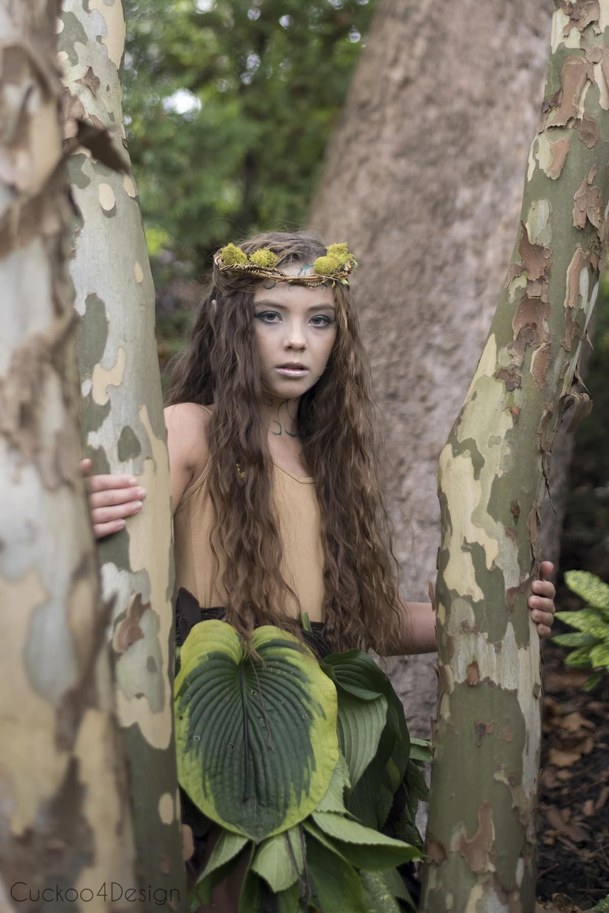 beautiful forest elf costume