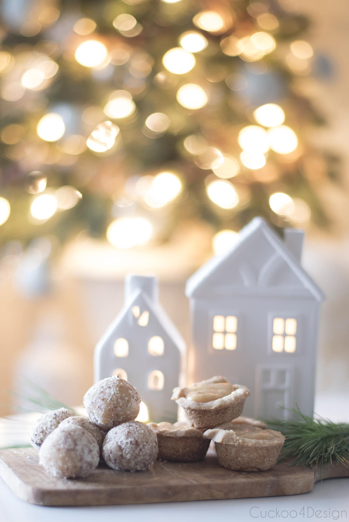 Christmas toffee tassies recipe