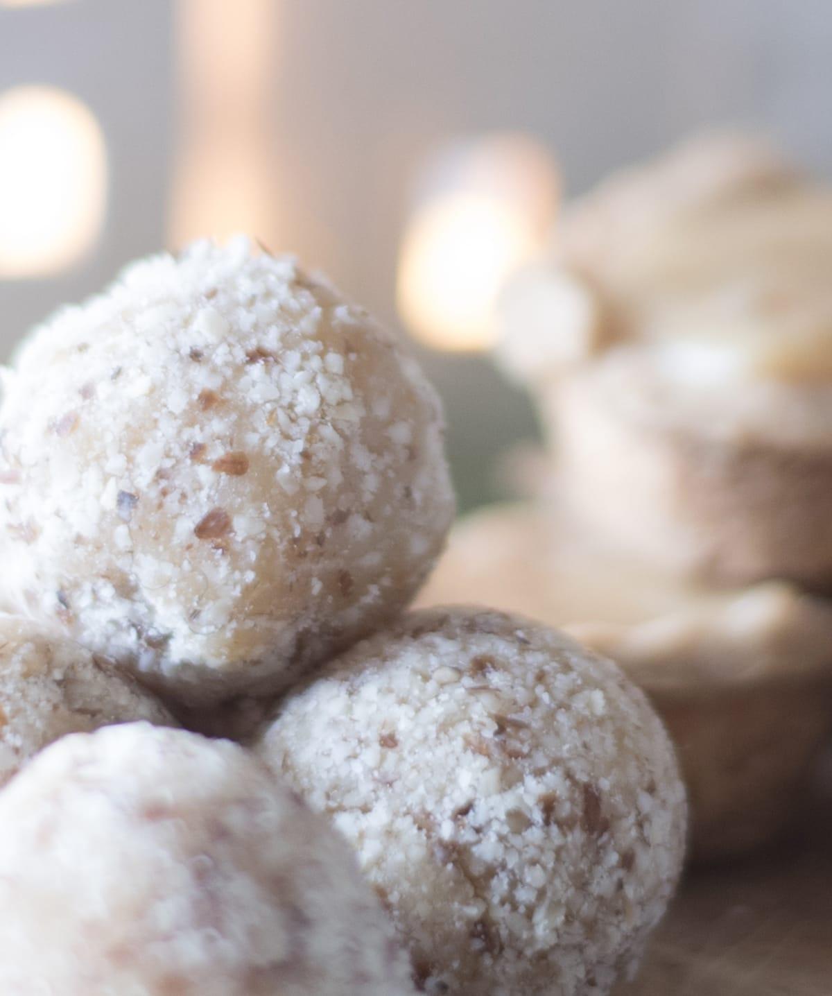 gluten free caramel toffee balls recipe