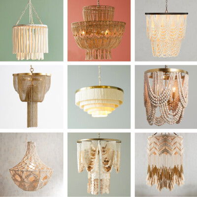 Friday Favorites: favorite cascading chandeliers