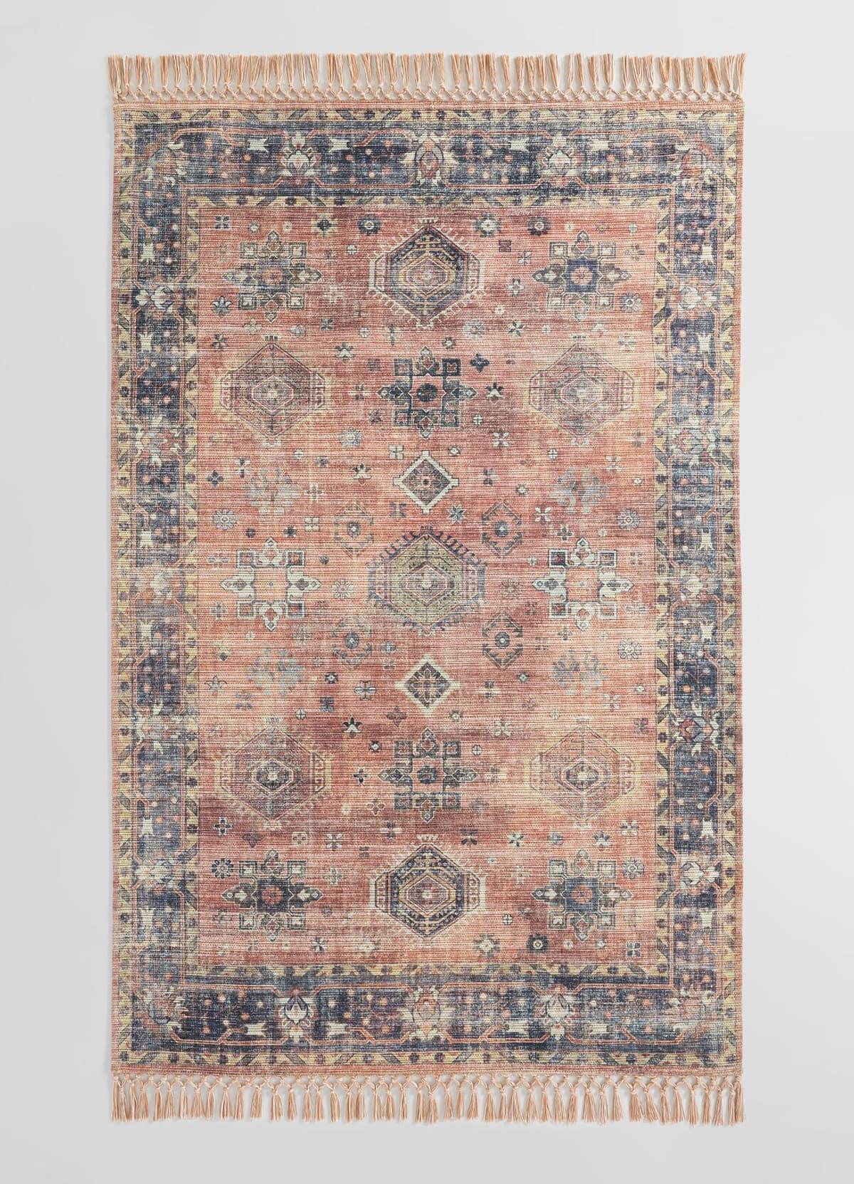 faux indoor outdoor Persian rug