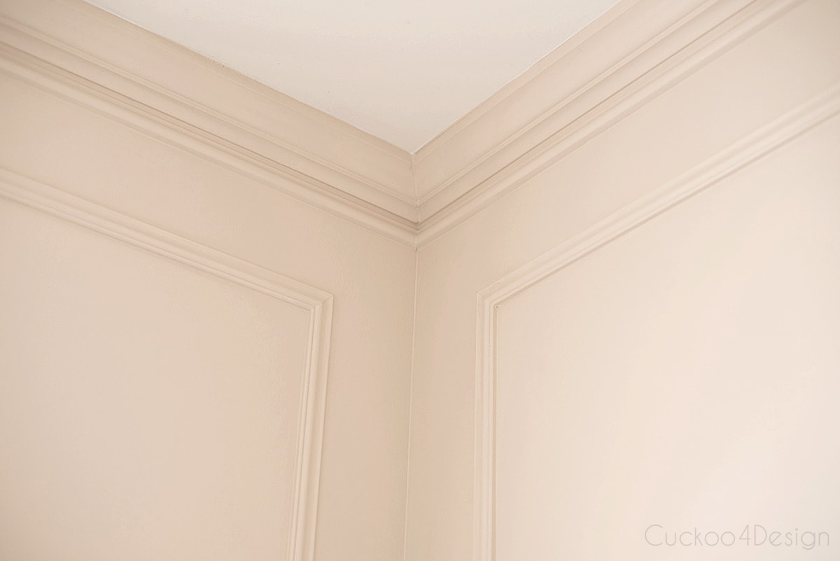 crown moulding and picture frame wall moulding