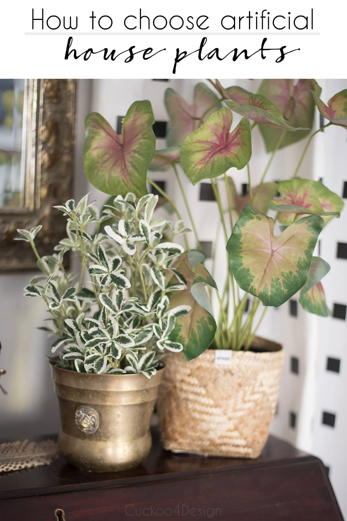 How to choose artificial house plants that look real