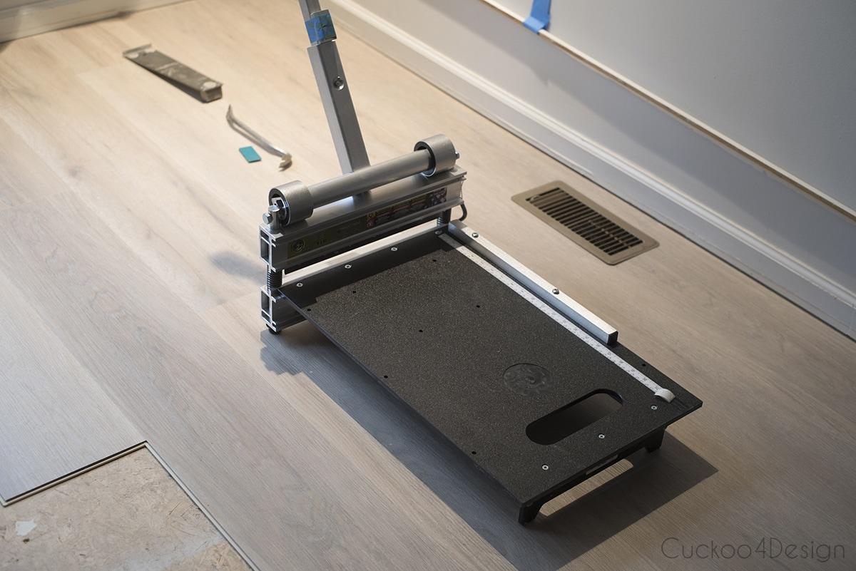 vinyl wood plank flooring cutter