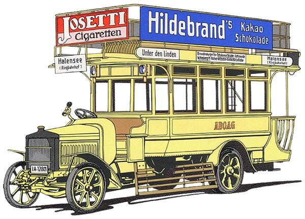 RK-Wagen named after ABOAG-Direktor Robert Kaufmann