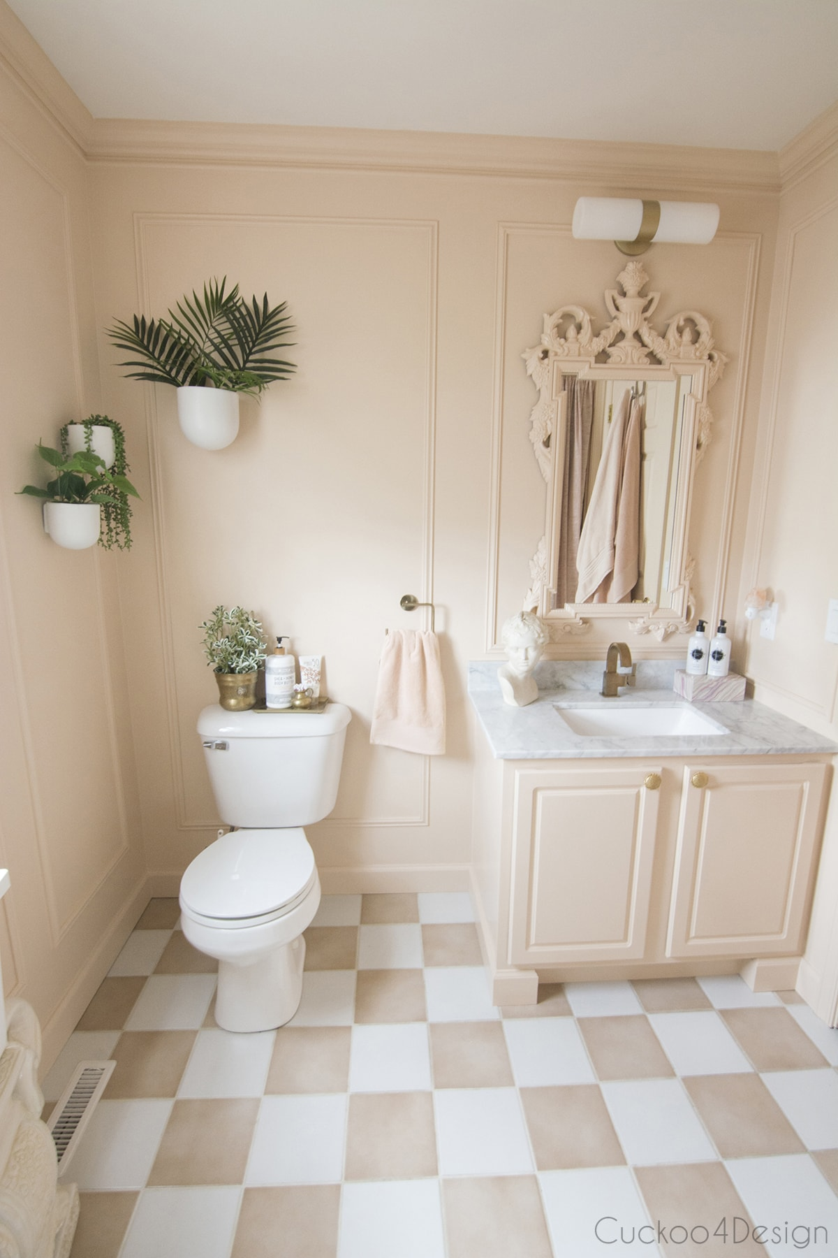 beautiful and affordable budget bathroom remodel