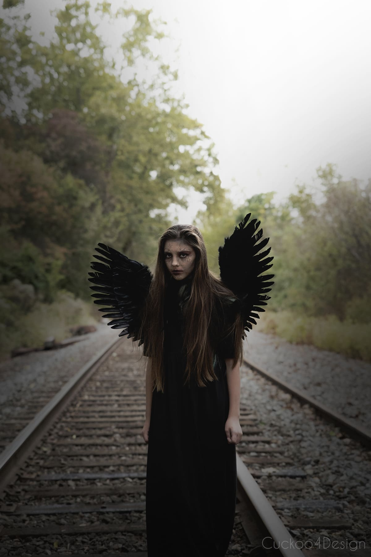 dark angel halloween costume dress