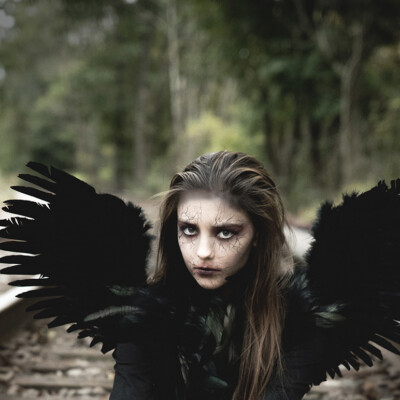 Dark Angel Halloween Costume