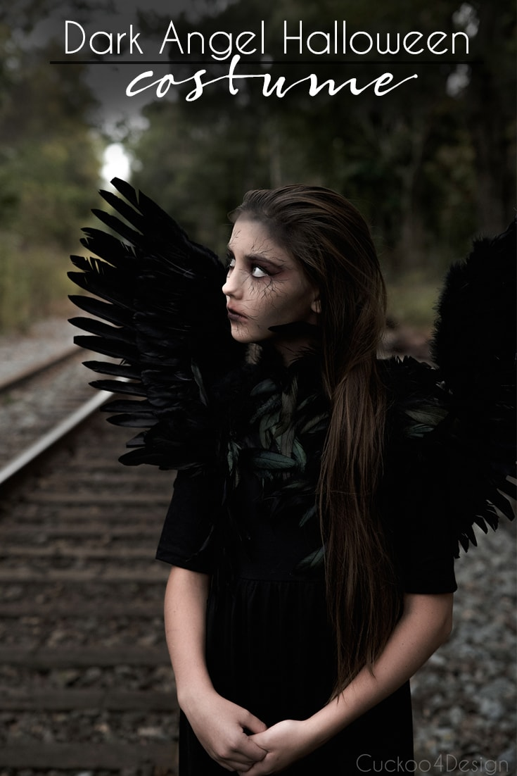 How to make a dark angel costume