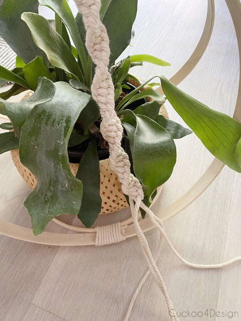long square knot strand