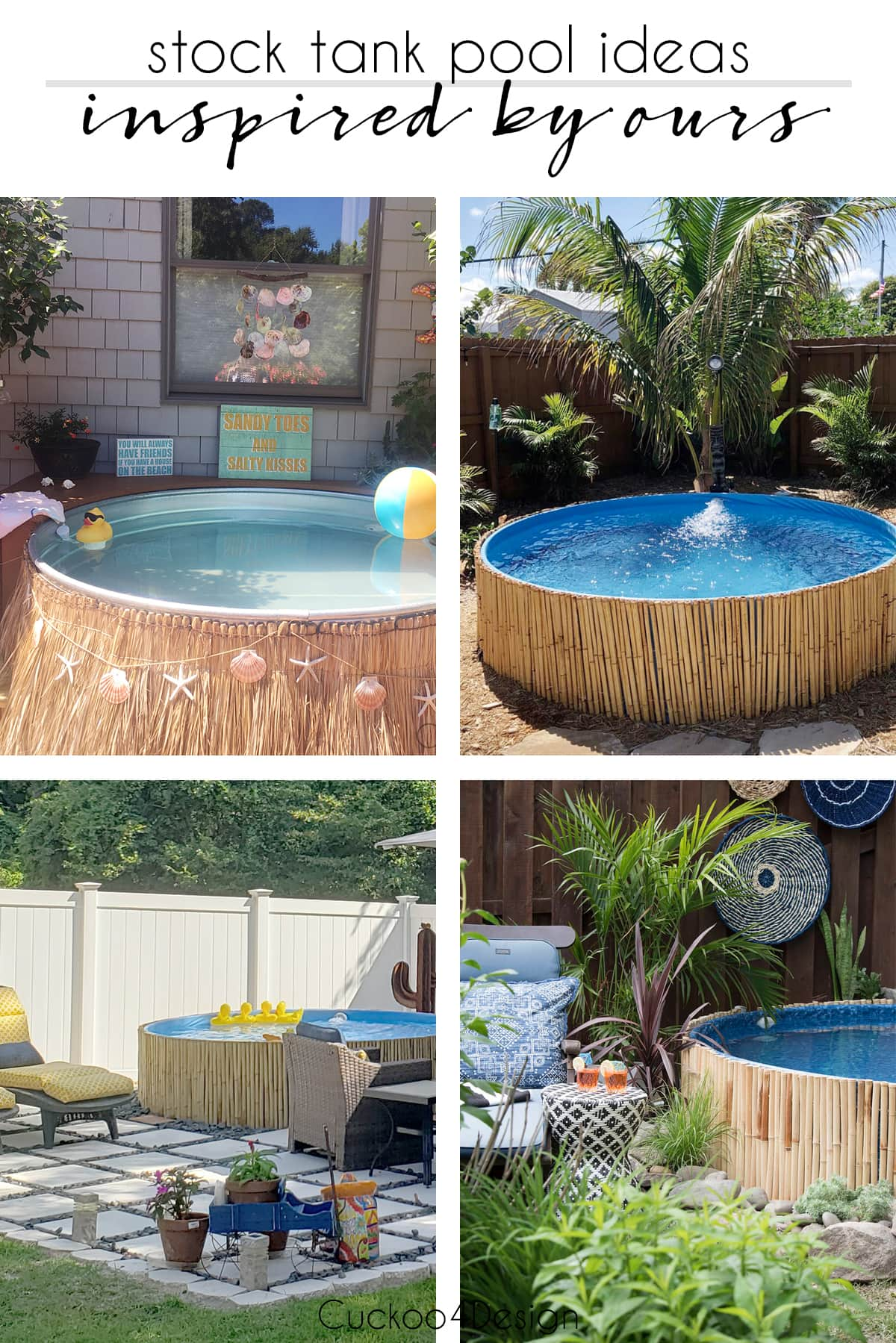 stock tank pool ideas inspired by our own pool