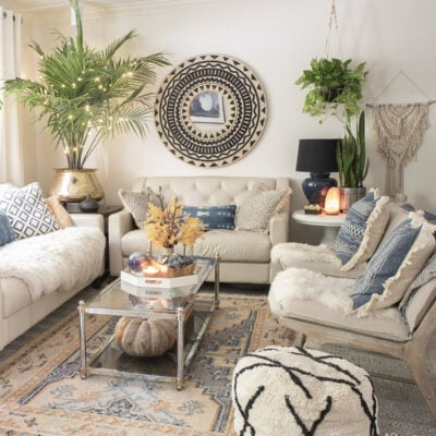 Decorating for fall with area rugs