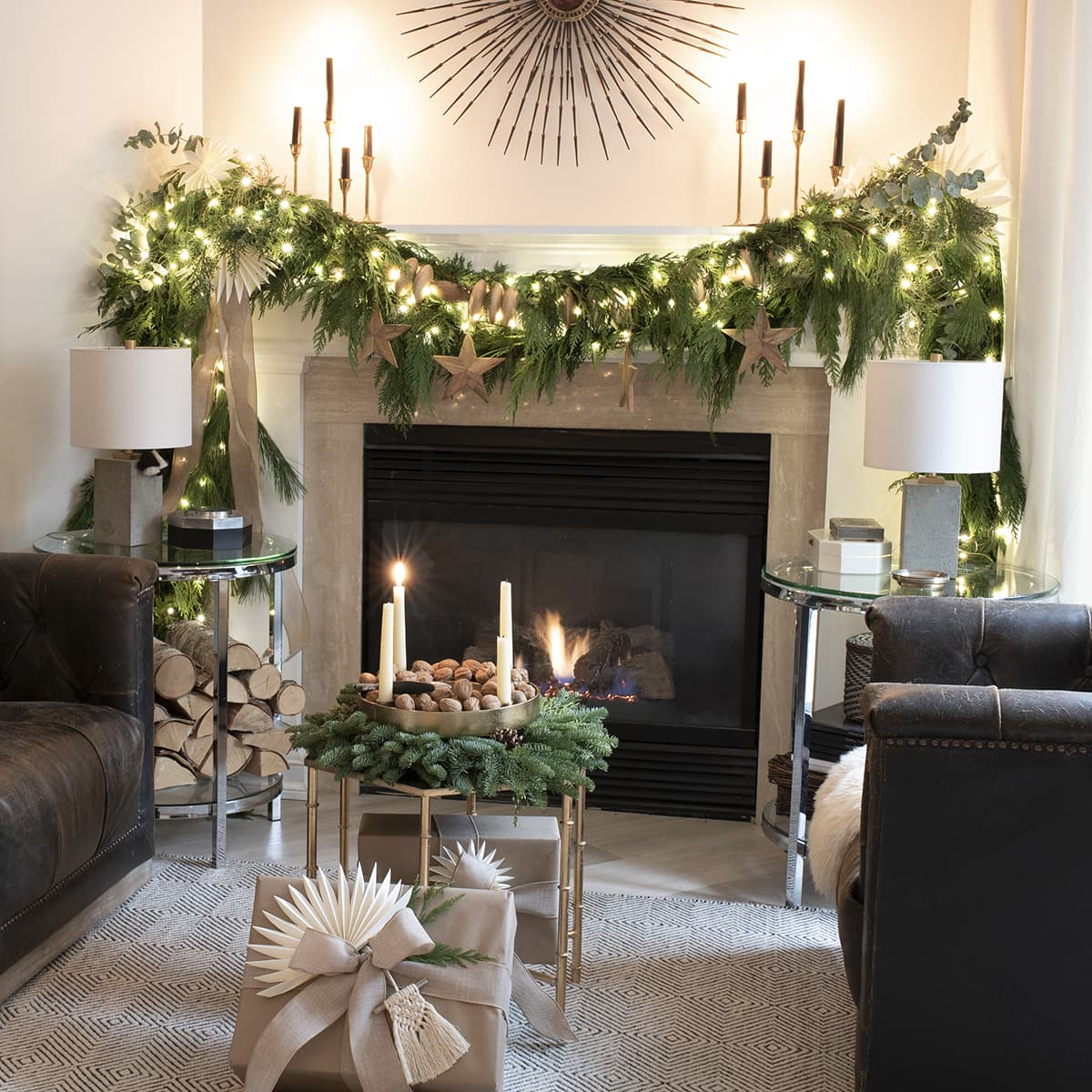 Holiday magic with plug-in Christmas tree fairy lights