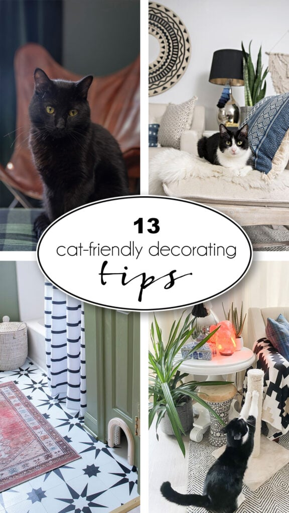 13 cat-friendly decorating tips