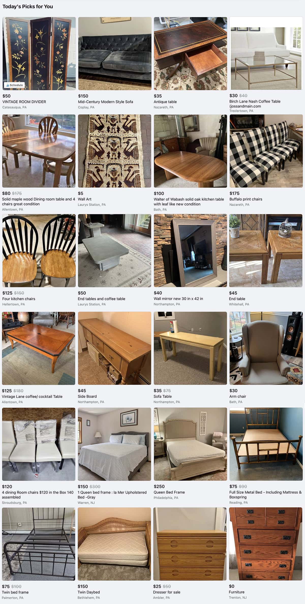 how to decorate your home with facebook marketplace examples