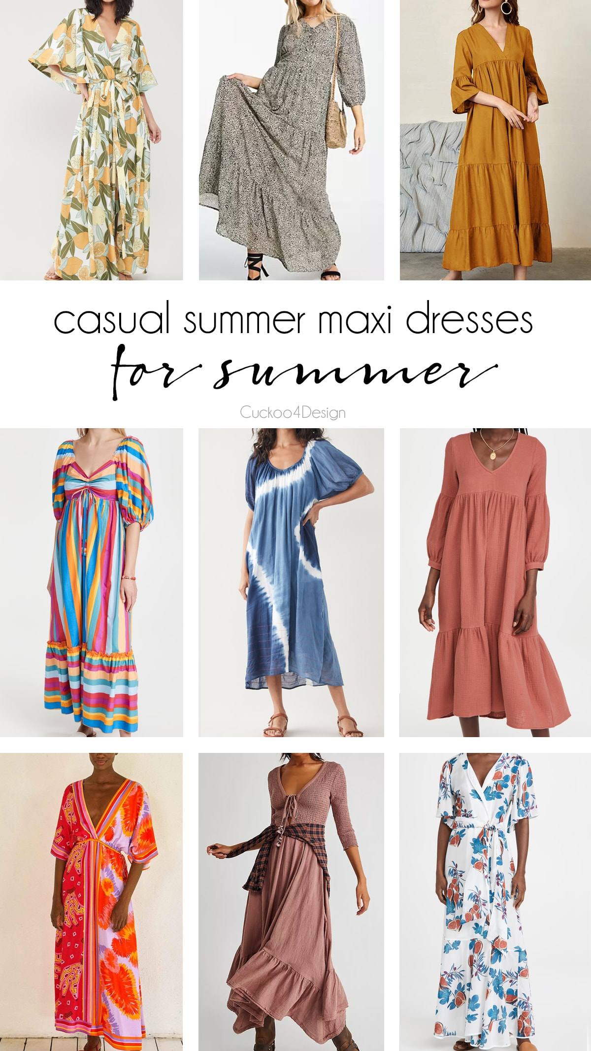 my favorite casual summer maxi dresses with sleeves