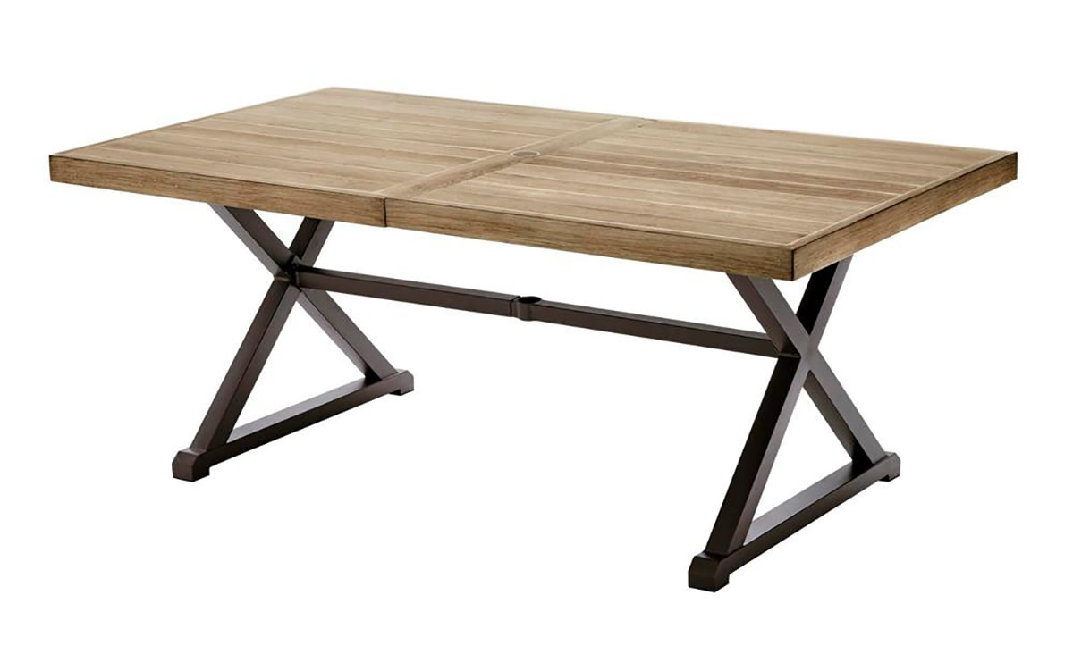 photo of tiled table from catalog