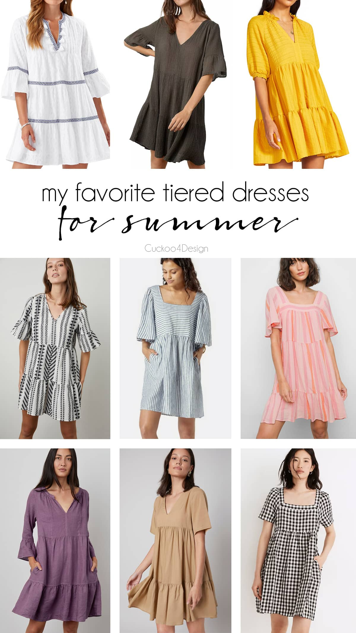 my favorite tired dresses with sleeves