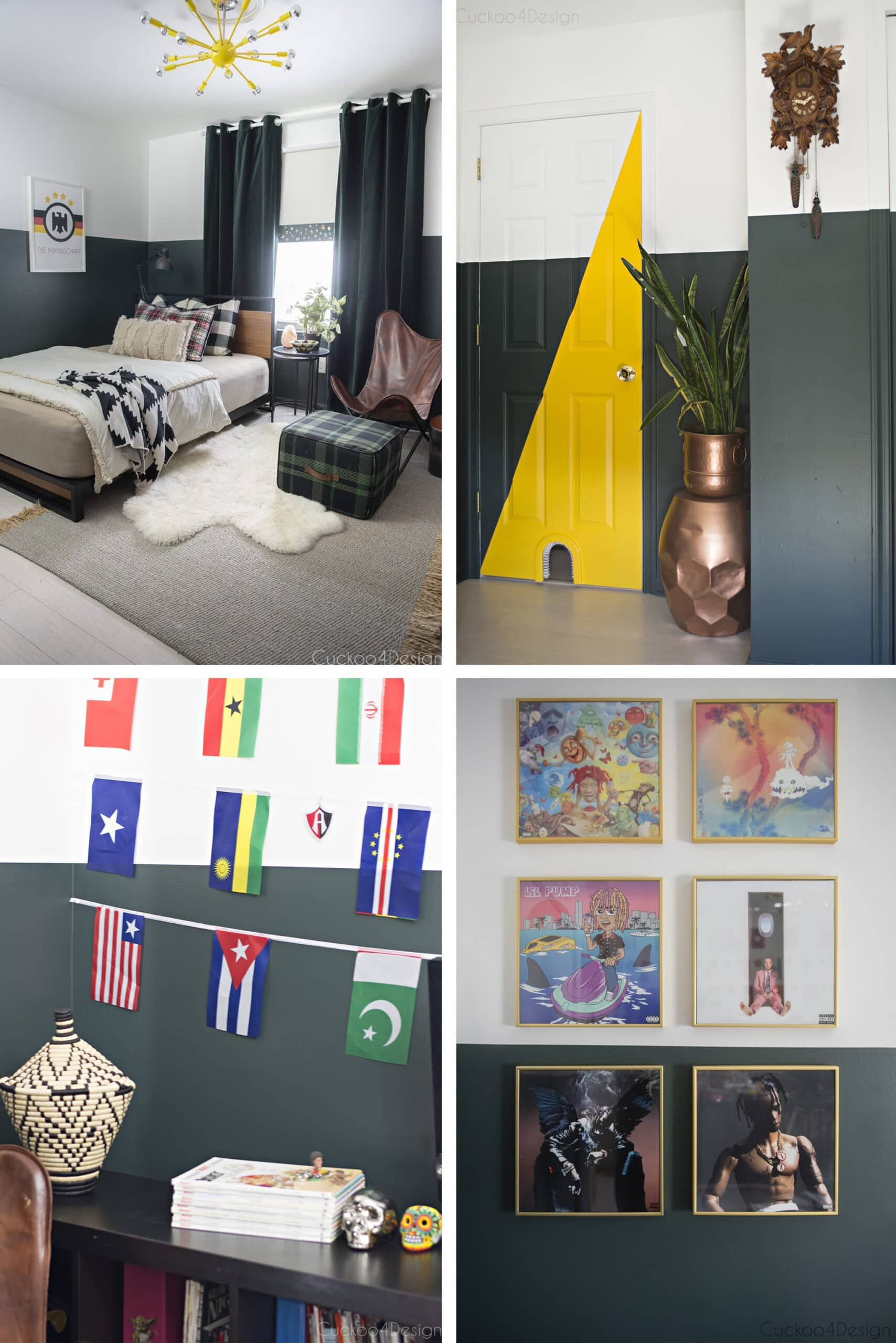 our son's room at home